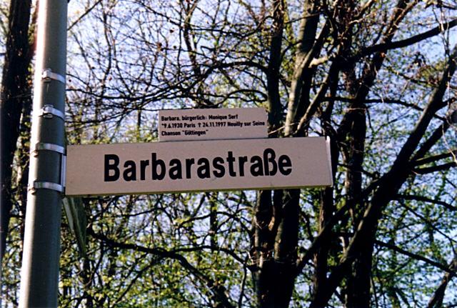 barbara göttingen text deutsch